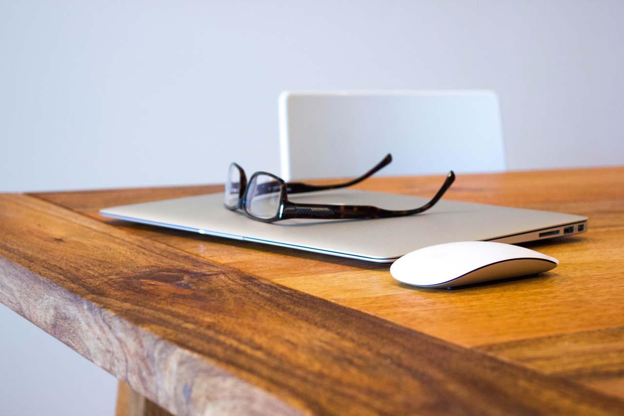 Rechner Brille Maus