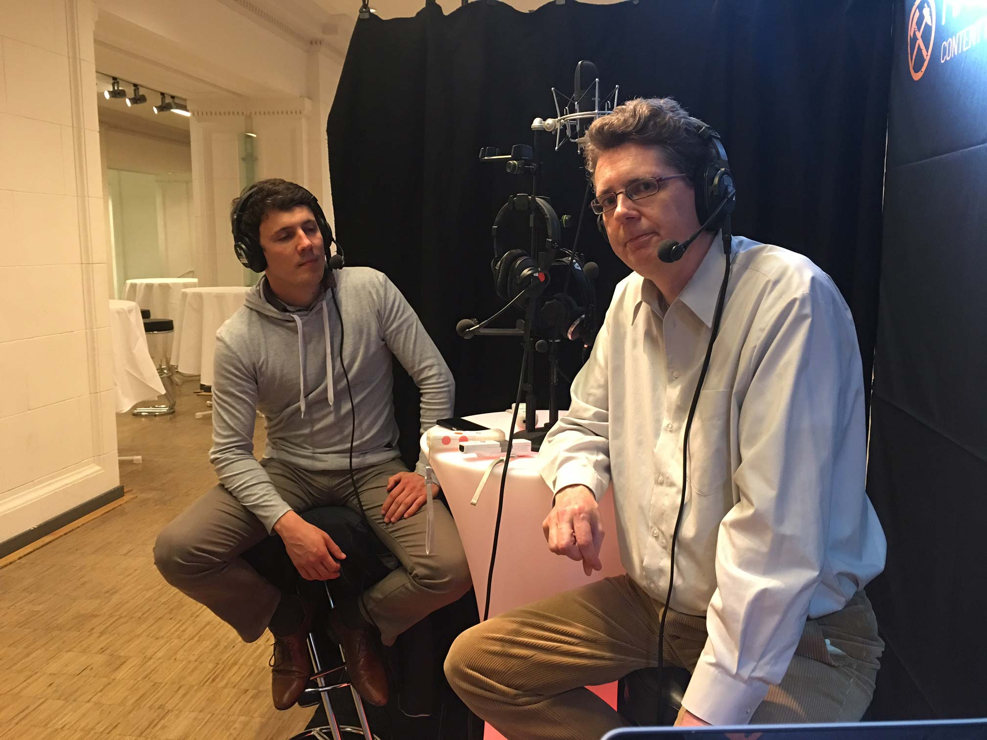 DFK17 Preshow - Jörg Reschke und Andreas Berg