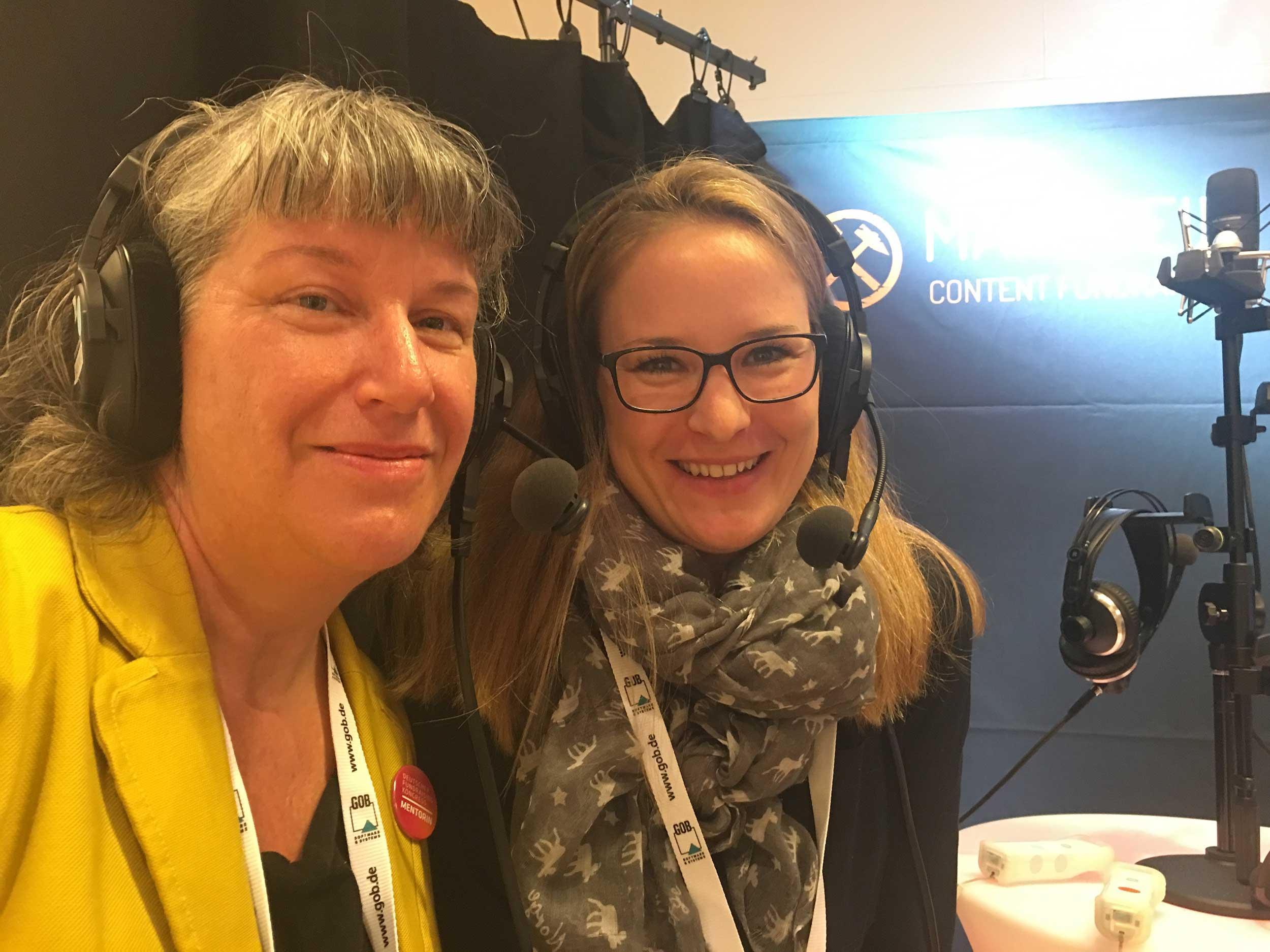 Susanne Wohmann und Miriam Wagner-Long