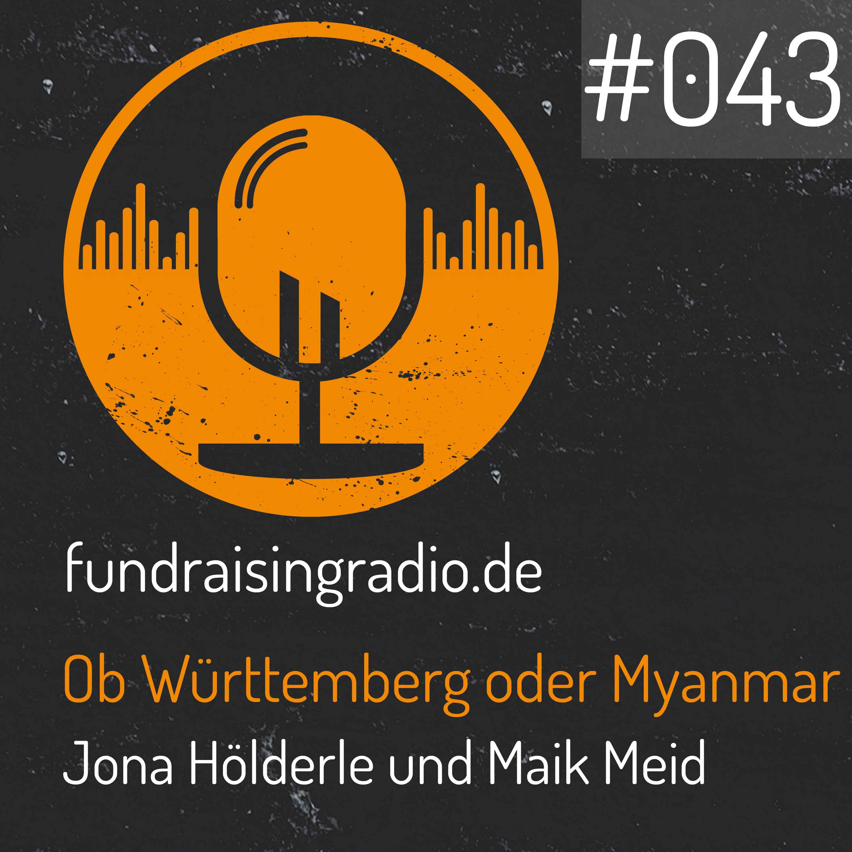 Fundraising Radio Folge 43 Cover