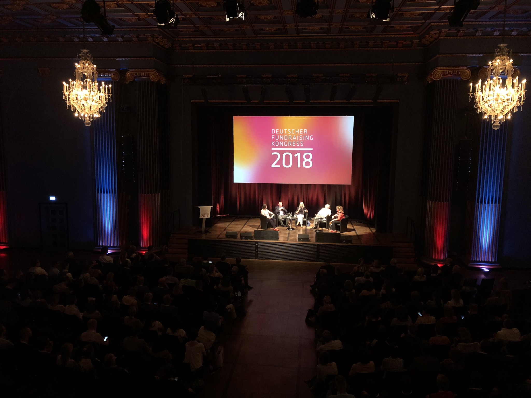 Eröffnung des Deutschen Fundraising Kongresses 2018 in Kassel