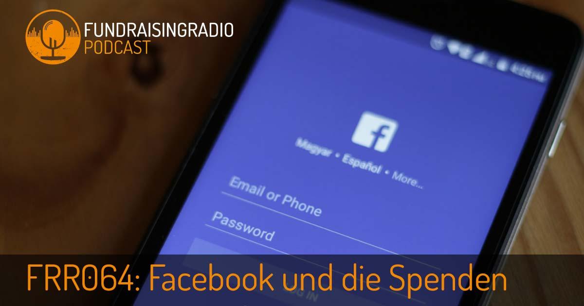Facebook und die Spenden