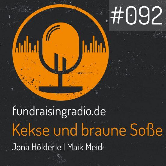 Cover Folge 092 Fundraising Radio