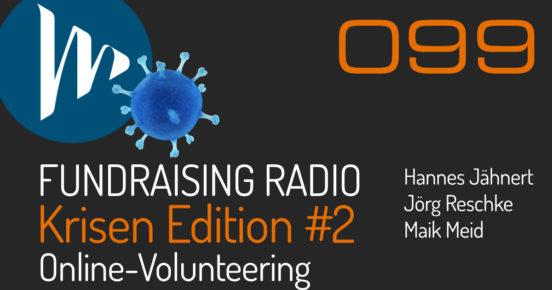 FRR099: Online-Volunteering