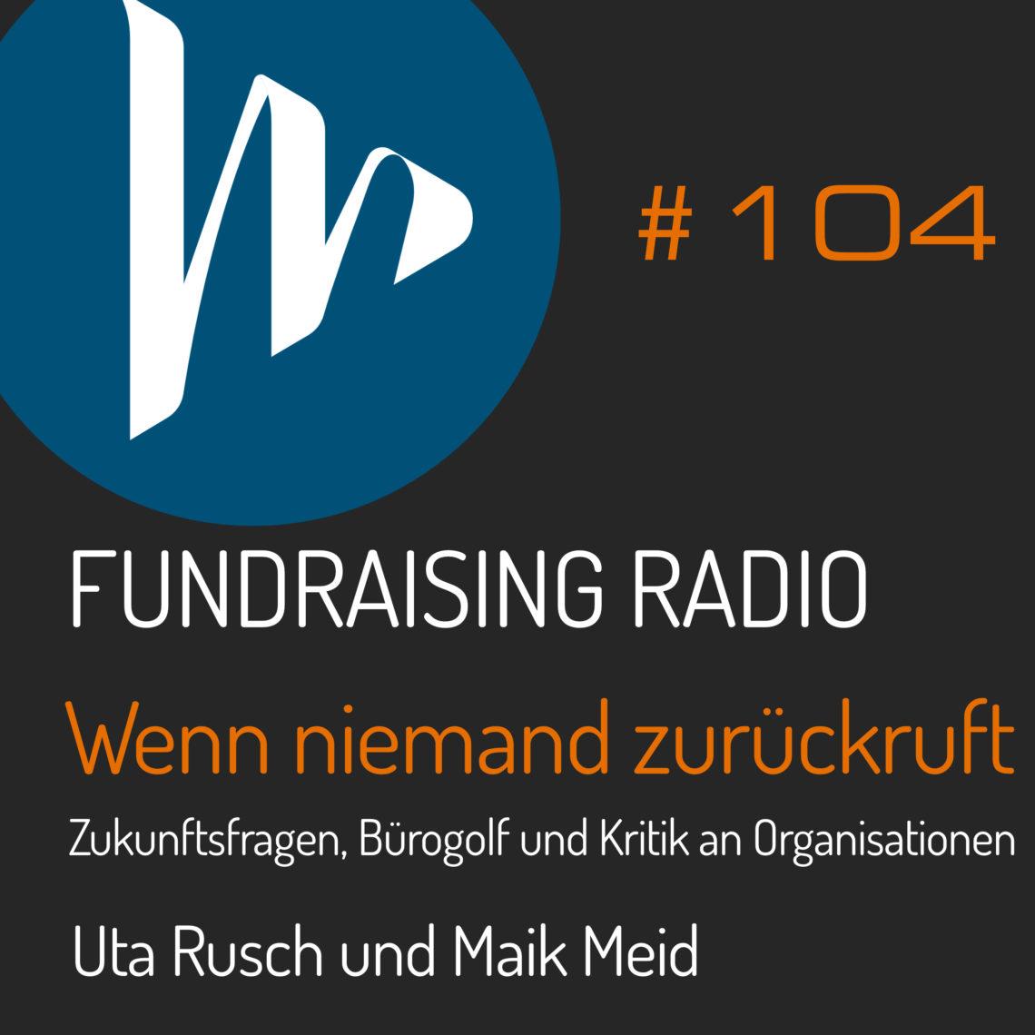 FRR104 mit Uta Rusch