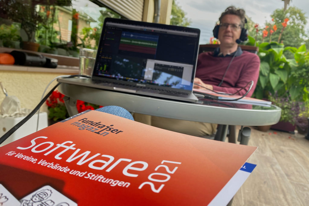 Andreas Berg im Daten-Garten.